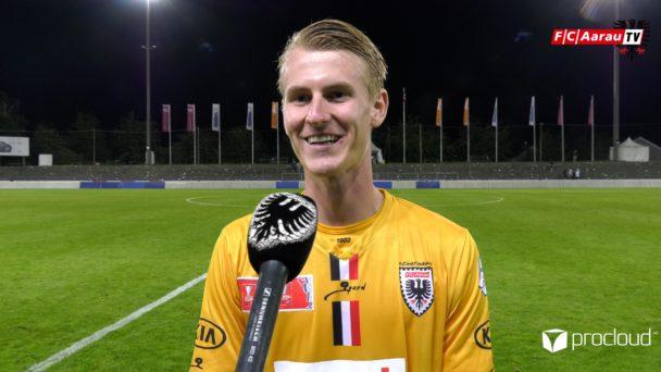 Video-Cover: FC Aarau - FC Wil 4:3 n.E. (12.09.2020, Stimmen zum Spiel)