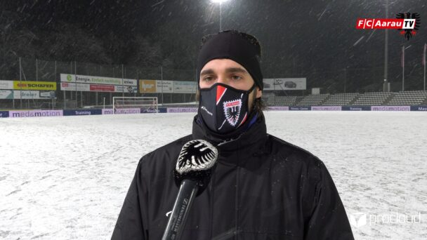 Video-Cover: FC Aarau - FC Sion 4:2 n.V. (10.02.2021, Stimmen zum Spiel)