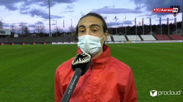 Video-Cover: FC Aarau - FC Winterthur 3:0 (06.04.2021, Stimmen zum Spiel)