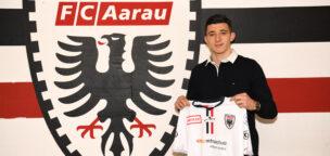 Teaser-Bild für Beitrag «Langfristiger Vertrag für Milot Avdyli beim FC Aarau»