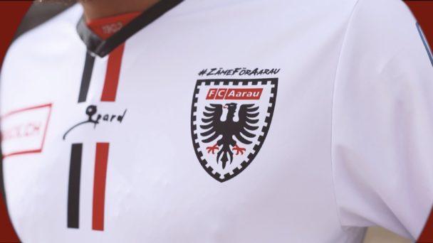 Video-Cover: FC Aarau - Trikots Saison 2020/21