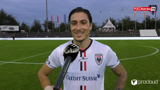 Video-Cover: FC Aarau - FC Stade Lausanne Ouchy 5:2 (21.08.2021, Stimmen zum Spiel)