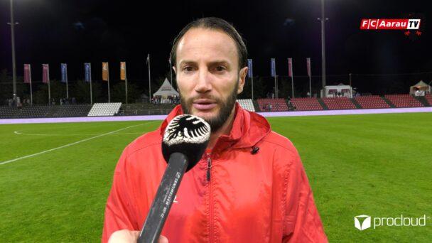 Video-Cover: FC Aarau - FC Vaduz 1:3 (27.08.2021, Stimmen zum Spiel)