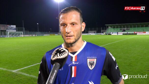 Video-Cover: Yverdon Sport FC - FC Aarau 1:1 (10.09.2021, Stimmen zum Spiel)
