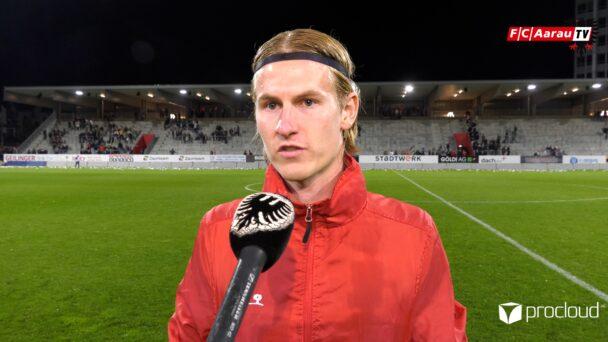 Video-Cover: FC Winterthur - FC Aarau 0:0 (24.09.2021, Stimmen zum Spiel)