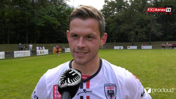Video-Cover: FC Someo - FC Aarau 0:7 (15.08.2021, Stimmen zum Spiel)