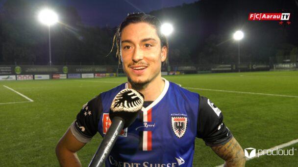 Video-Cover: FC Paradiso - FC Aarau 0:1 (18.09.2021, Stimmen zum Spiel)