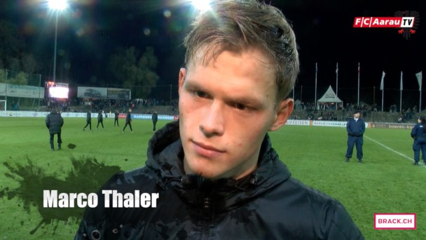 Video-Cover: Stimmen zum Spiel: FC Aarau - FC Chiasso 1:1 (07.11.2015)