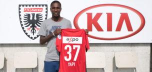 Teaser-Bild für Beitrag «Gilles Yapi wechselt auf Leihbasis zum FC Aarau»