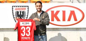 Teaser-Bild für Beitrag «Neuzuzug in der Offensive: Peyretti kommt vom FC Thun»