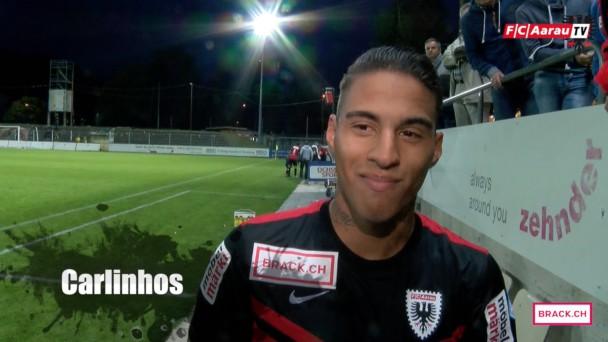 Video-Cover: Stimmen zum Spiel: FC Aarau - FC Schaffhausen 2:0 (26.09.2015)