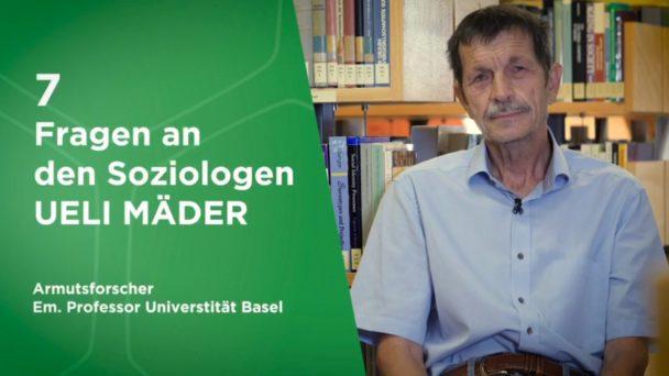 Video-Cover: Sieben Fragen an den Soziologen Ueli Mäder