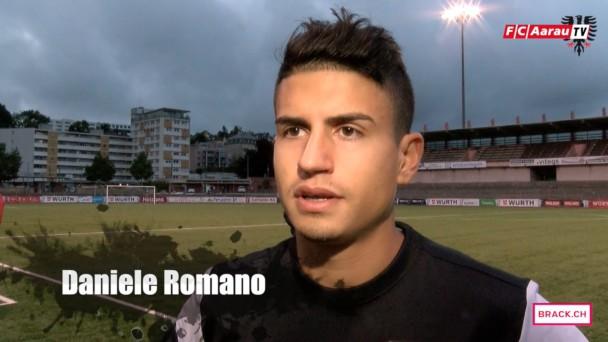 Video-Cover: Stimmen zum Spiel: FC La Chaux-de-Fonds - FC Aarau 0:3 (19.09.2015)