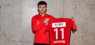 Teaser-Bild für Beitrag «Ex-FCA-Junior Ramadani kehrt leihweise zurück»