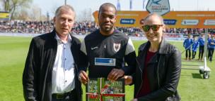 Teaser-Bild für Beitrag «Kim Jaggy: 100 Spiele im Trikot des FC Aarau»