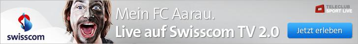 Werbemittel: Leaderboard (728 x 90) von Swisscom (Schweiz) AG