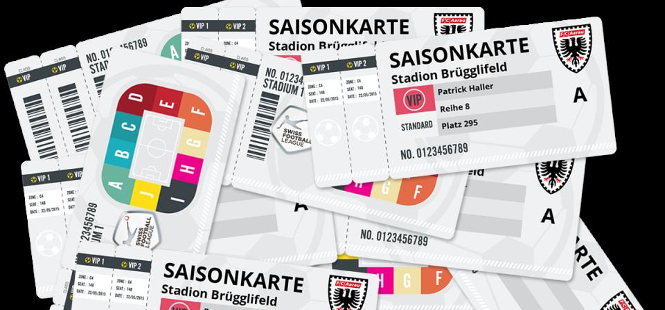 FC Aarau - Saisonkarte