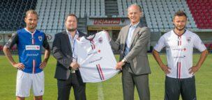 Teaser-Bild für Beitrag «Credit Suisse wird neuer Co-Hauptsponsor des FC Aarau»