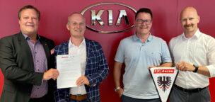Teaser-Bild für Beitrag «Sponsoring verlängert mit der Emil Frey AG und Kia»