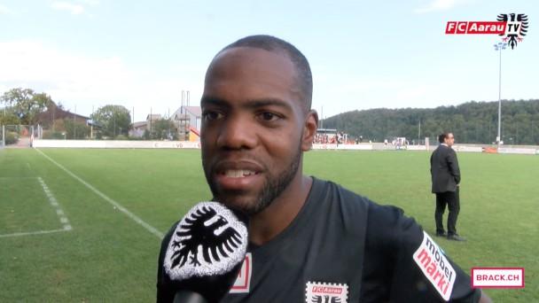 Video-Cover: Stimmen zum Spiel: FC Le Mont-sur-Lausanne - FC Aarau 0:0 (13.09.2015)