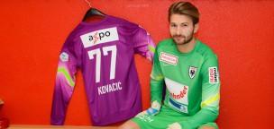 Teaser-Bild für Beitrag «Ilija Kovacic als zweiter Torhüter verpflichtet»