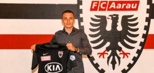 Teaser-Bild für Beitrag «Liridon Balaj wechselt für zwei Jahre zum FC Aarau»