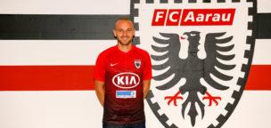Teaser-Bild für Beitrag «Marco Schneuwly wechselt für zwei Jahre zum FC Aarau»