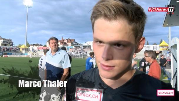 Video-Cover: Stimmen zum Spiel: FC Wil - FC Aarau 0:0 (25.07.2015)