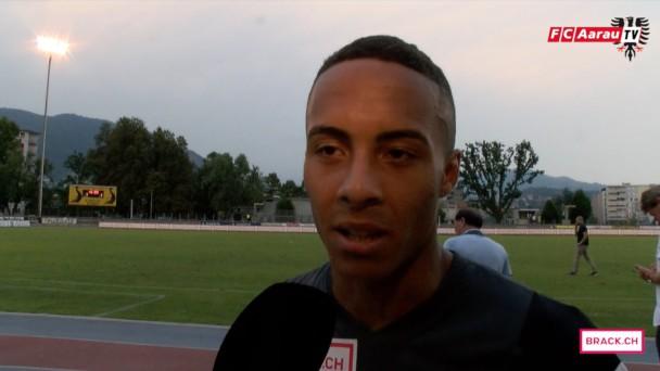 Video-Cover: Stimmen zum Spiel: FC Chiasso - FC Aarau 1:1 (08.08.2015)