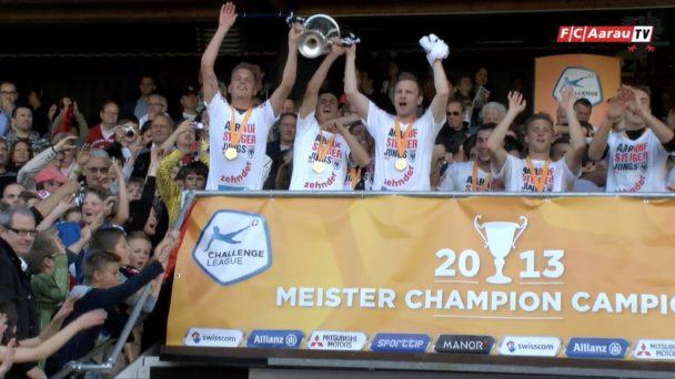 Video-Cover: Olivier Jäckle - 200 Spiele für den FC Aarau