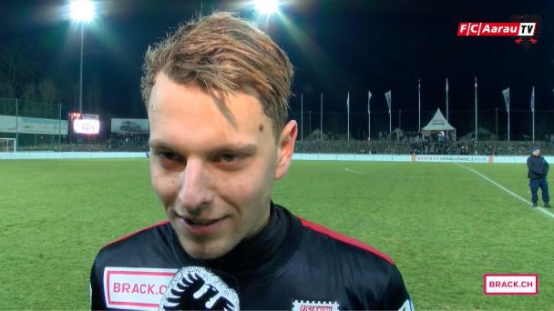 Video-Cover: FC Aarau - FC Biel 1:1 (06.02.2016, Runde 19) Stimmen zum Spiel