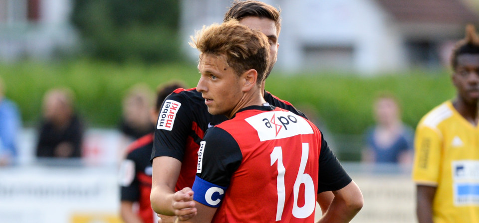 Olivier Jäckle bleibt dem FC Aarau treu
