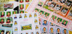 Teaser-Bild für Beitrag «Panini-Tauschbörse mit FCA-Spielern im Brügglifeld»