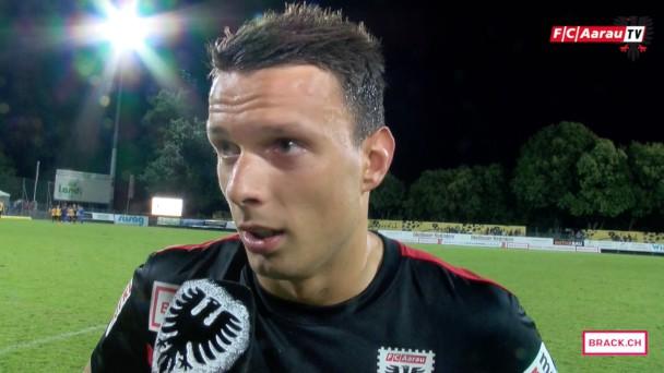 Video-Cover: Stimmen zum Spiel: FC Schaffhausen - FC Aarau 1:0 (21.08.2015)