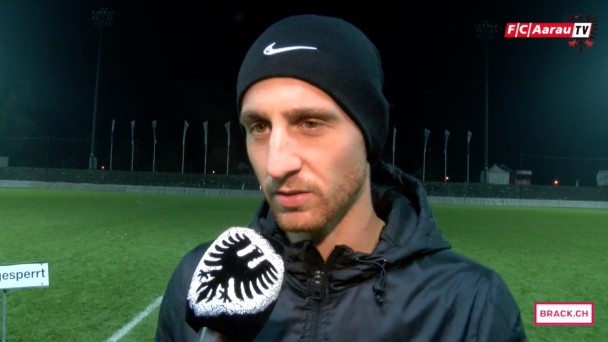 Video-Cover: Stimmen zum Spiel: FC Aarau - FC Lausanne-Sport 0:3 (26.10.2015)