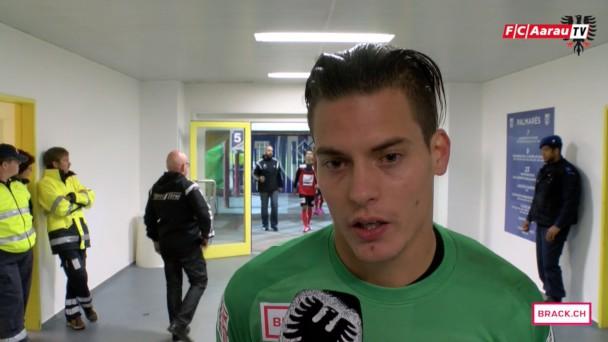 Video-Cover: Stimmen zum Spiel: FC Lausanne-Sport - FC Aarau 1:1 (23.09.2015)
