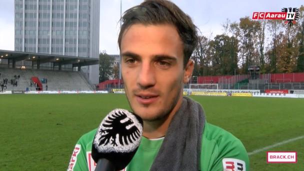Video-Cover: Stimmen zum Spiel: FC Winterthur - FC Aarau 1:1 (18.10.2015)